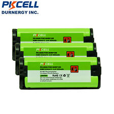 3 X Cordless Phone Rechargeable Battery For Panasonic HHR-P105A HHRP105A PKCELL