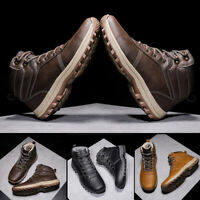 Men Boots Boots Autumn Safety Casual Fashion Winter Solid Outdoor Ankle Footwear
