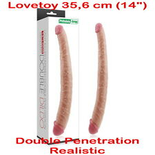 Tapered Double Penetration for gay Realistic_Dildo_Dong & Penis Lesbian 35.6 cm