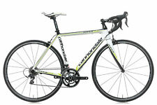 2012 Cannondale Supersix 5 105 Womens Road Bike 51cm Small Carbon FSA