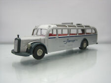 Brekina Mercedes 5000 Touring Bus Silbervogel Silver 1/87 Scale Good Condition
