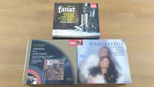9cd 3set emi Gounod opera Faust/Romeo&Juliette Plasson/Cluytens ex+/nm