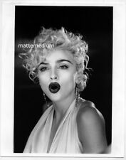 *H324 MADONNA Vogue Video - Vintage 1990s Black White 8x10 Photo =RITTS FINCHER=