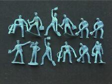"""12 Vintage Wwii Playset Hard Plastic Figures 2-3/4""""-3"""""""