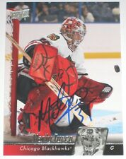 MARTY TURCO SIGNED 10-11 UPPER DECK CHICAGO BLACKHAWKS CARD AUTOGRAPH AUTO!!