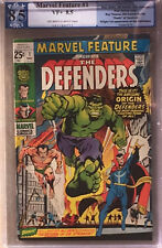 MARVEL FEATURE #1 (1971) PGX 8.5 VF+ (like CGC) 1st Apperance of the Defenders