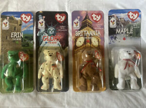 mcdonalds beanie babies happy meal toys factory sealed with errors