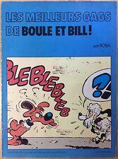 Les meilleurs gags de BOULE ET BILL Offert par Chevron 1976 Bon état