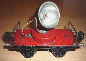 Märklin Flackscheinwerferwagen 1929 - 1932