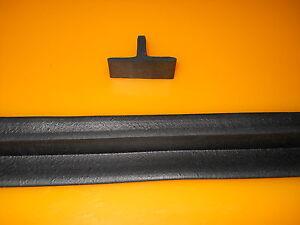 Gummiprofil Gummi T-Profil Fugenabdeckung Überfahrschutz (s.Artikelbeschreibung)