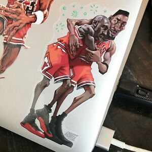 Jordan Flu Game Die Cut Vinyl Sticker Decal