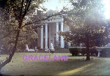 ELVIS PRESLEY GRACELAND MANSION 1970 ORIGINAL VINTAGE OLD KODAK 5X7 PHOTO CANDID