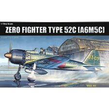 1:72 Academy A6m5c Zero Fighter Type 52c - 172 Kit Model New Mitsubishi Scale