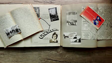 Circa 1947 Handwritten Diary Occupied Germany War Dept Librarian Superb Content