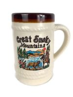 Vintage Great Smoky Mountains TN Pigeon Forge Gatlinburg Coffee Tea Mug Cup G-1