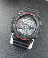 ds Orologio ZCC C-Shock Digitale Sveglia Data Subacqueo Sport Nero Rosso lac