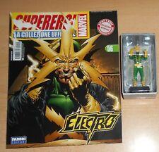 Marvel UNIVERSO 25 Electro Chiaro Braccio SCUDO VARIANTE file CODICE SEGRETO SCALA 1:16.