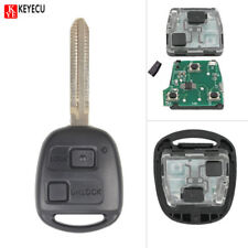 Remote Car Key Fob 2 Button 433MHz 4C for Toyota RAV4 Corolla Yaris P/N:60081