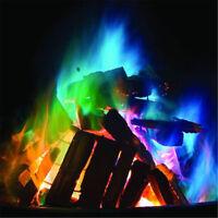25G Mystical Fire Magic Tricks Farbige Flammen Lagerfeuersack Pitwt ZJP
