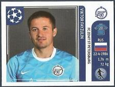 PANINI UEFA CHAMPIONS LEAGUE 2011-12- #454-ZENIT ST PETERSBURG-VIKTOR FAYZULIN