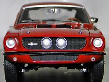 1967 Mustang  Ford 1 GT 18  64 Sport Pony 43 Car 24 Vintage 40 Carousel Red 12