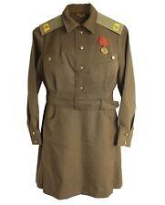 Soviet Military Womens Dress Long Sleeve summer uniform