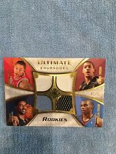 2008-09 Upper Deck Ultimate Collection Foursomes Westbrook Quad Jersey #40/50