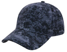Low Profile Camo Cap Blue Digital Camouflage Baseball Hat Rothco 86120