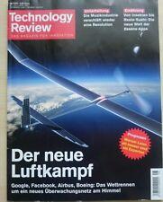 Technology Review, August 08/2016: Der neue Luftkampf +gebraucht+