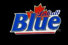"Rare New Labatt Blue Maple Beer LED 3D Neon Sign 20"""