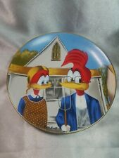Vintage Gothic Woody Woodpecker Walter Lantz Collectible Porcelain Plate #2249