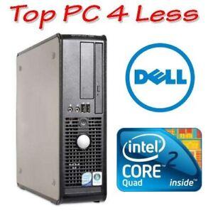Dell OptiPlex 755 SFF Desktop Core 2 Quad Q9400 3G 160G DVD Windows XP Pro