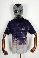 Huf Worldwide Skateboard T-Shirt Tee Triple Triangle Sky Wash Vintage Violet  M
