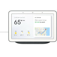 """Google 7"""" Voice-Activated Smart Assistant Home Hub - Charcoal"""