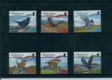 Alderney Birds Passerines set U/M 2007