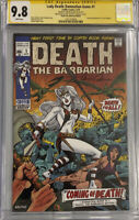 CBCS SS 9.8 LADY DEATH DAMNATION GAME #1 DEATH THE BARBARIAN EDITION CGC
