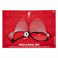 Liverpool FC LFC Foldable Goals Football Bag Pegs Set Official
