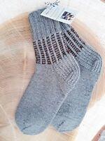 Hand- knitted Warm Quality Sheep Wool Unisex Socks 5-8 UK Size Christmas Gift