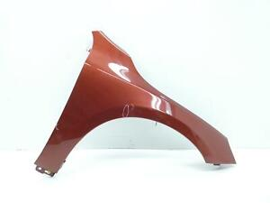 2014 - 2018 VOLVO S60 OEM RIGHT FRONT FENDER (702) FLAMENCO RED PEARL **CHIP**