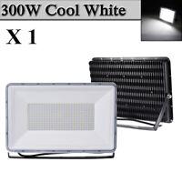 300W LED Flood Light Cool White Arena Outdoor Garden Yard Spotlight IP67 NEW