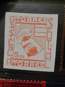 SPAIN CIVIL WAR GUERRA - TORRES- LOCAL CITY POST