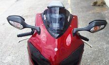 Honda CBR 1000 RR a 2009 Pantalla De Doble Burbuja En Negro