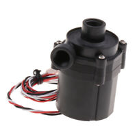 DC 12V Ceramic Bearing Quiet Water Pump Water Cooling G1/4 Thread 3Pin Plug