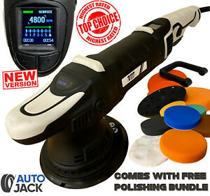 Autojack DA Polisher Professional 150mm Dual Action Buffer Car Polishing Waxing