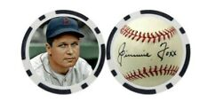 JIMMIE FOXX / BOSTON RED SOX   - POKER CHIP - BALL MARKER ***SIGNED***