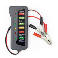12V Autobatterietester Digitalgenerator 6 LED-Lichtanzeige Diagnosewerkz✔DE
