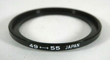 49mm to 55mm Step-Up Ring