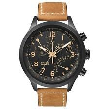 Timex Quarz-Armbanduhren (Batterie) mit Armband aus echtem Leder für Herren