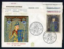 24582) FRANCE 1964 FDCx4 Paintings - Quadri