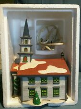 "Dept 56 Heritage Village Collection New England ""Arlington Falls Church"" 5651-0"